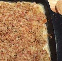 Homemade Cauliflower Mac & Cheese